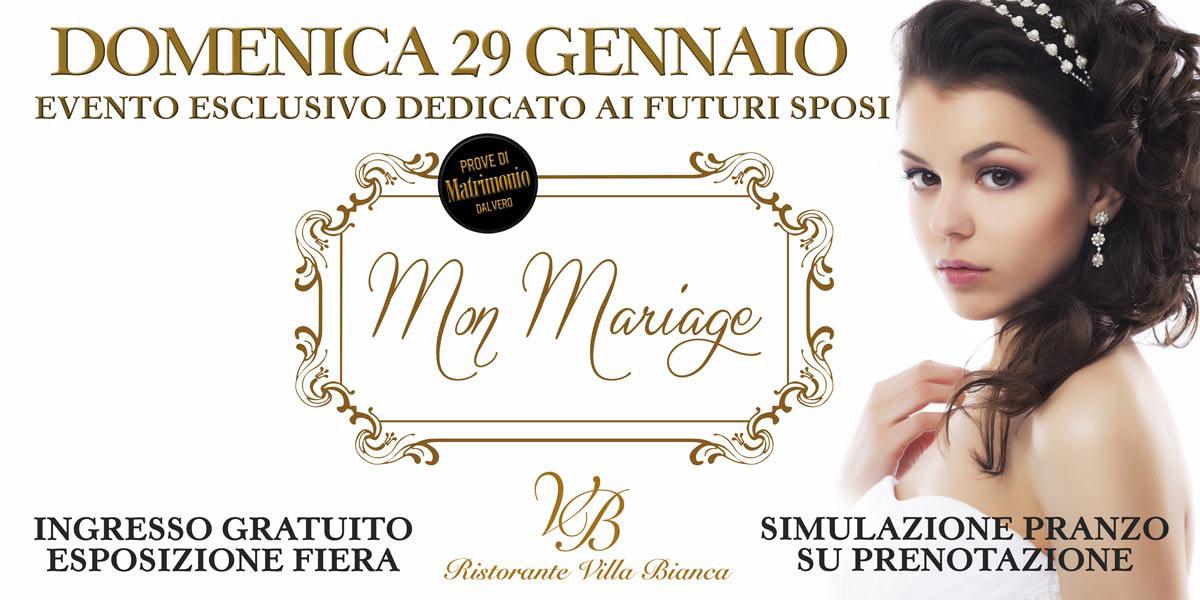 Mon Mariage 29 Gennaio 2017